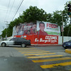 Cozumel is preparing for elections and Fredy is everywhere.