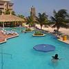 Breezes Resort pool, Curacao