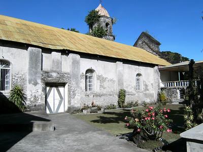 Church courtyard.