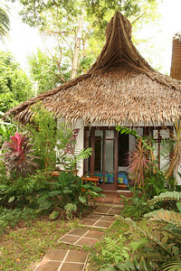 One of the garden view bungalows.
