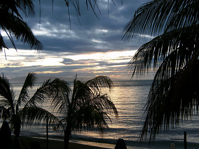 Sunrise at Atlantis Resort.