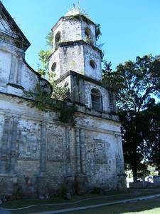 Stonework and belltower.