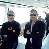 Two cool dive dudes - Craig and Brian.