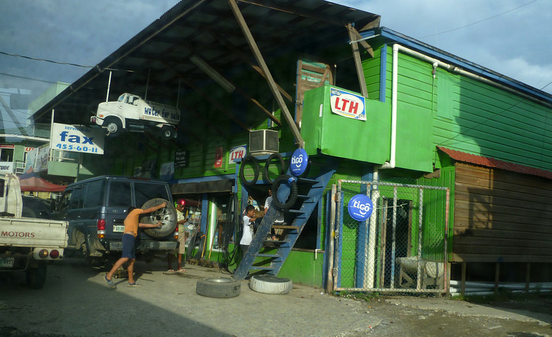 Auto supply store on the way to the resort.
