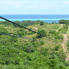 The first zipline - over 1800 feet long.