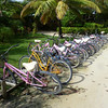 Easiest transport around the resort - grab a beach bike and go.