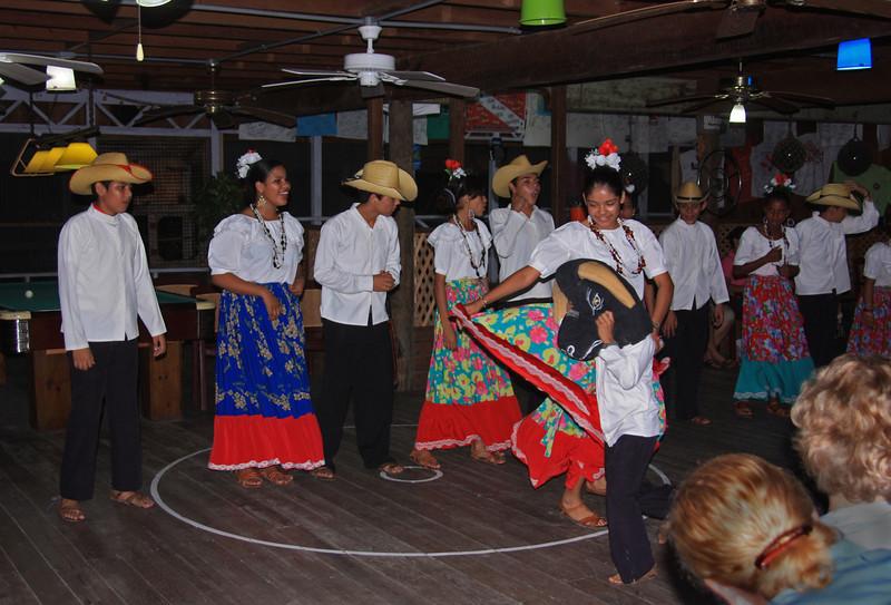The Torridor Dance - the bullfight.