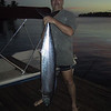 Thats a picture of a 42 lb wahoo caught by yours truly on a hand line while trolling