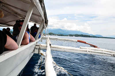 On our way to Atlantis resort in Puerto Galera