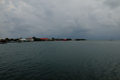 View from the Utila Agressor II