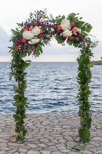 Wedding and reception