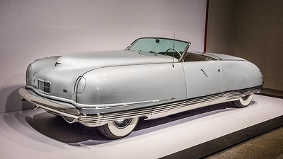 1941 Chrysler Thunderbolt Show Car with retractable one-piece metal hardtop. Five were built, but only four survive