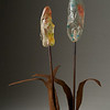 "<h2>""Sole-ful"" Blossoms</h2> sculpture © Bill Hess"