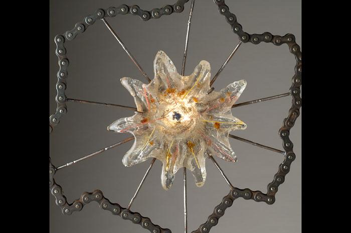 <h2>Detail - Eye Intention</h2>sculpture © Bill Hess