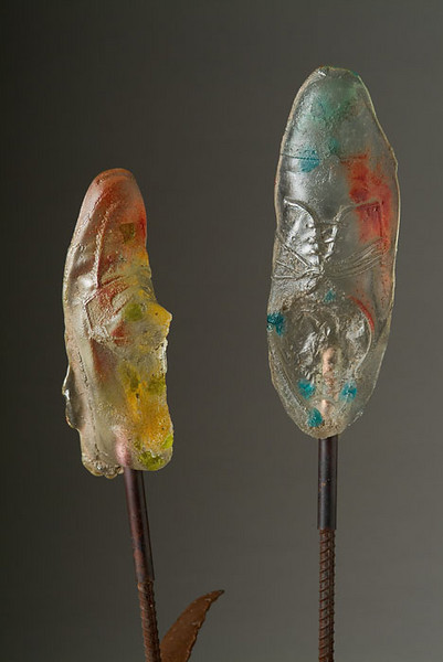 "<h2>""Sole-ful"" Blossoms</h2>sculpture © Bill Hess"