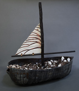 Ship of Leaves (alternate view)