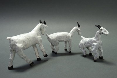 Provencal Goats -- Alternative View