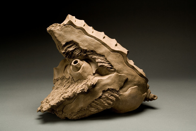 Untitled, 2000<br /> clay<br /> 13 x 16.5x 10 inches