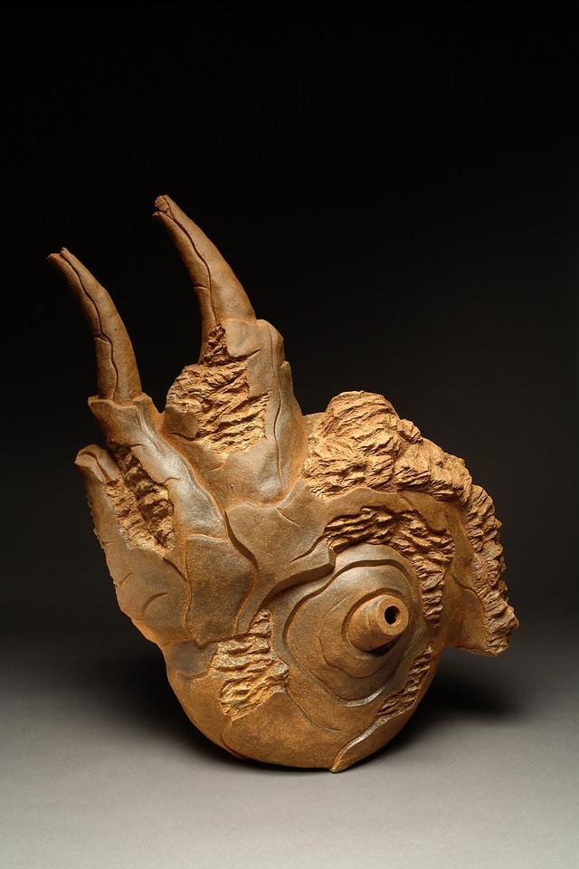 Untitled, 1993<br /> clay<br /> 29 x 22 x 10 inches