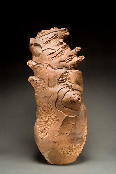 Untitled, 1996<br /> clay<br /> 48 x 20 x 15 inches