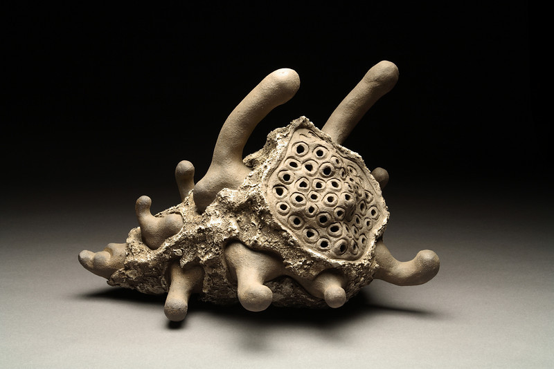 Untitled, 1995<br /> clay<br /> 12 x 17 x 15 inches