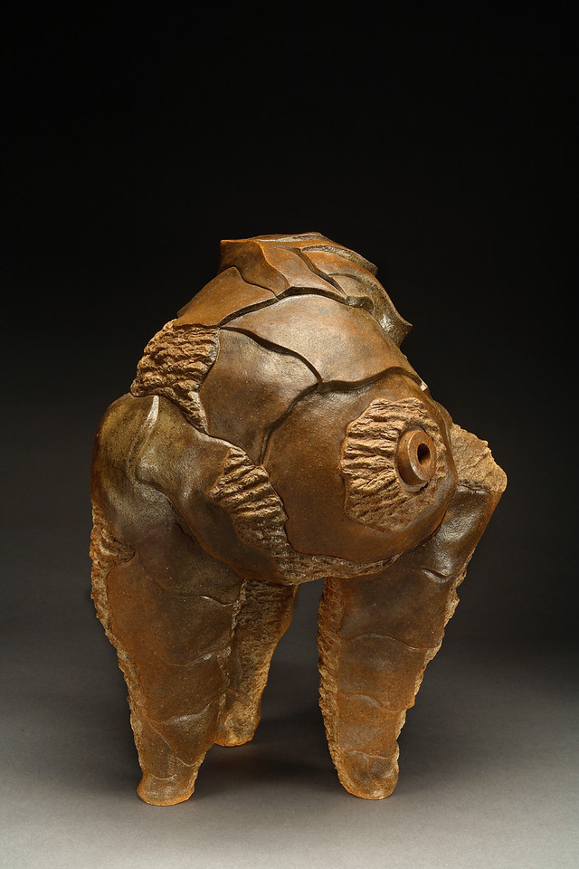 Untitled, 1993<br /> clay<br /> 20.5 x 15 x 17 inches