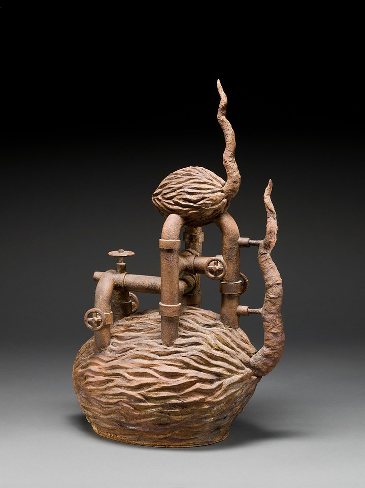Untitled, 1990<br /> Clay<br /> 29 x 20 x 10 inches