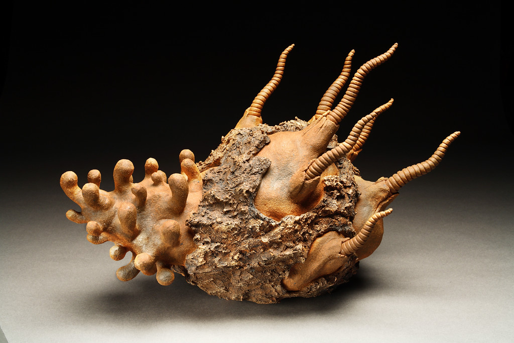 Untitled, 1995<br /> clay<br /> 14 x 19 x 13 inches<br /> Collection of Dr. Alvin Friedman-Kien