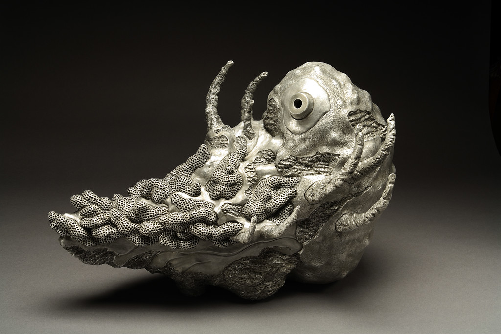 Untitled, 2005<br /> cast aluminum<br /> 18 x 23 x 13 inches