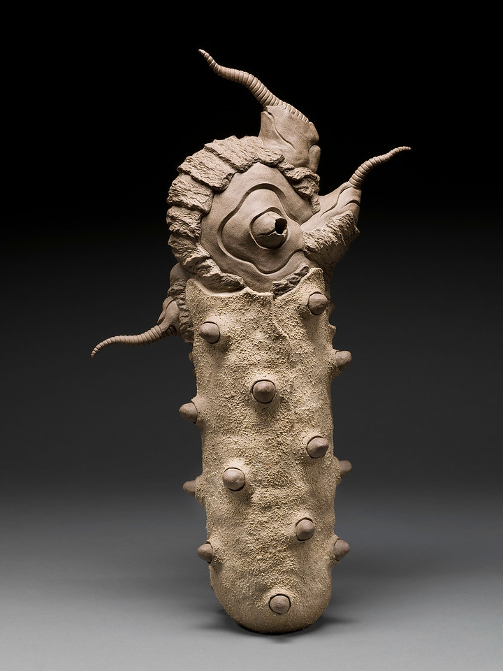 Untitled, 2000<br /> clay<br /> 27 x 15 x 8 inches
