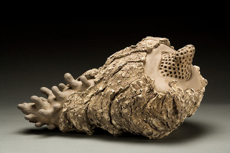 Untitled, 1995<br /> clay<br /> 10.5 x 20 x 11 inches