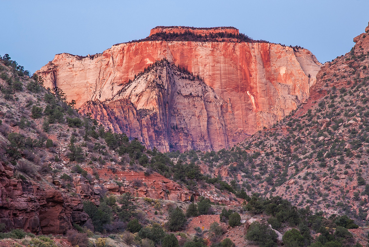 The Sentinel, Zion NP