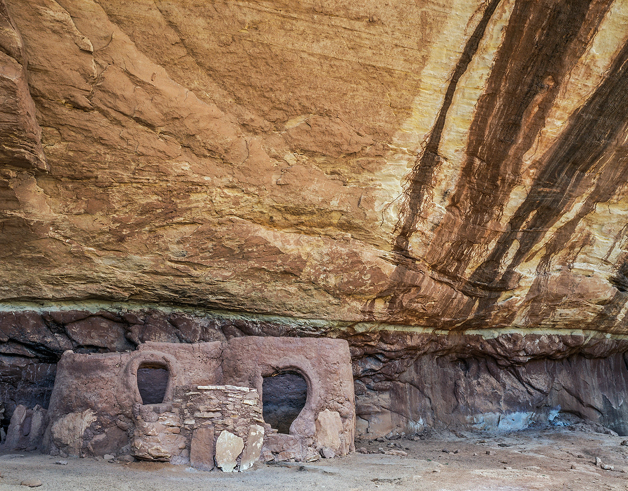 One of the Horse Collar Ruins found at the Natural Bridges National Monument in South Eastern Utah