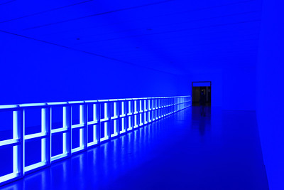 Untitled, Dan Flavin, Hirshhorn Museum, Washington, DC, USA.