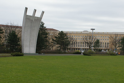 Airlift Memorial. Eduard Ludwig. Tempelhof Airport, Berlin, Germany.