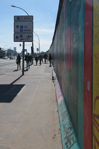 East Side Gallery, Berlin Wall.
