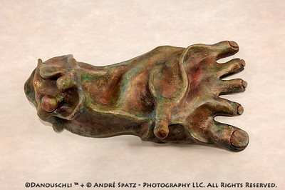 © Danouschli™  :  my left foot:) -clay sculpture approx. 16 inches