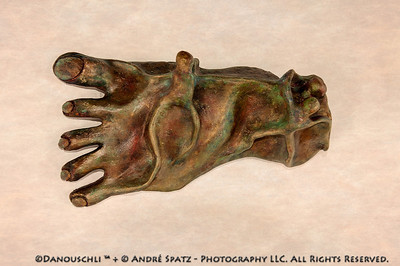 © Danouschli™  :  my left foot:) -clay sculpture, approx. 16 inches.