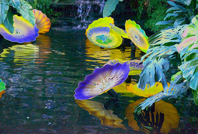 Glass Lily Pads
