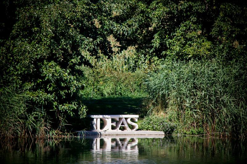 Ideas by Simon Gudgeon, Sculptures by the Lakes, Dorchester