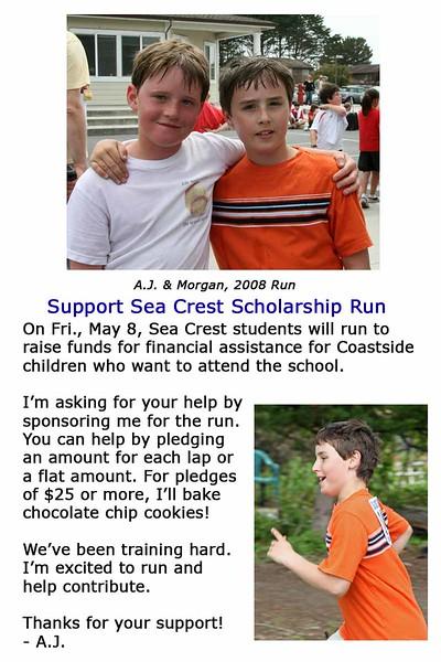 AJ Run Invite 2009
