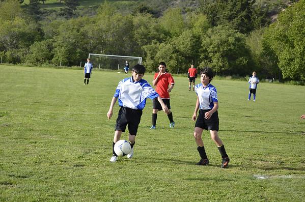 Boys Soccer Spring 2013