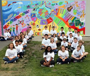 Mural & Class Gift Slideshow for Grad Preso