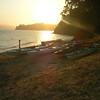 Sunset on Angel Island