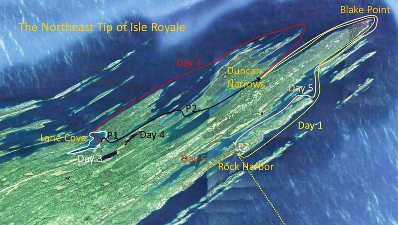 Our Isle Royale Trip