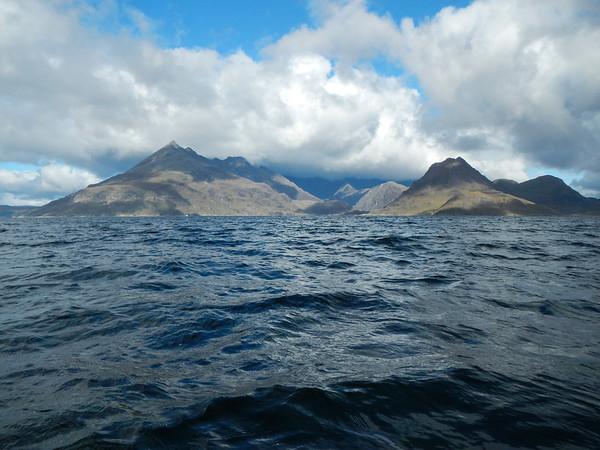 Paddling into Loch Coruisk