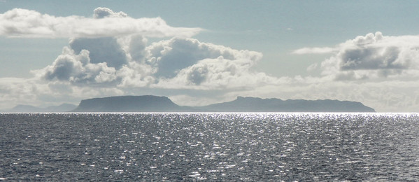 The view from Coruisk towards Eigg