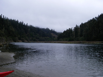Mendocino: Big River, Oct. 10, 2009