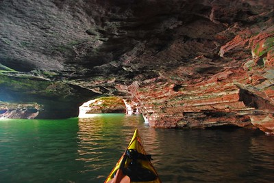 Sand Island Sea Caves, Apostle Islands, 2015