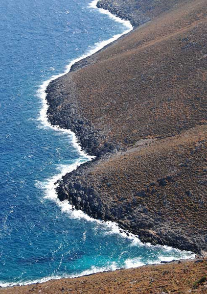 The islands are barren rock with many cliffs, and the wind can be strong, so landing spots are few and far between.